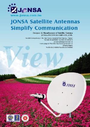 ku band dish antenna