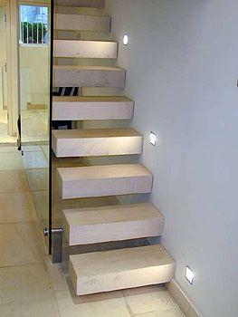 stairs riser travertine