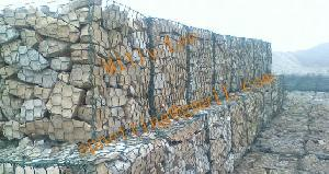 hexagonal wire netting chicken mesh stone cages sack gabions rock
