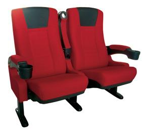 cinema seat upholstered movie theatre auditorium chair