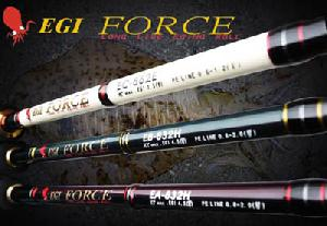 fishing rod egi force fuji sic guide body snvc carbon fibre