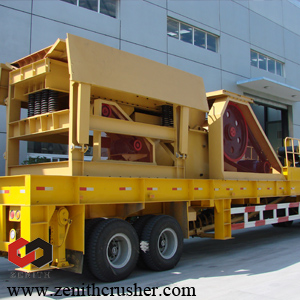 zenith mobile crusher