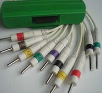 nihon kohden 10 ekg cable ecg cables spo2 sensors pulse oximeter