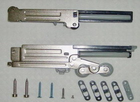 soft close sliding roller fittings