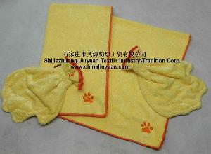 microfiber shining towel n glove