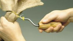 bag ties wire