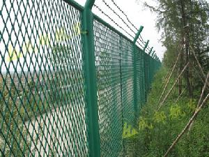 expanded steel metal mesh fencing