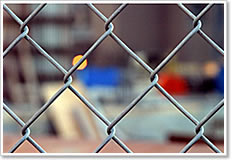 rhombic wire mesh diamond chain link fence