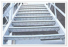 steel bar grating stair footboard