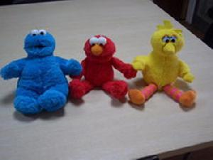 elmo soft toy