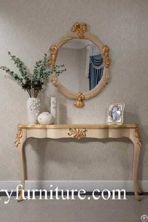 Entrance Table Fh101 Decorations Console With Mirror