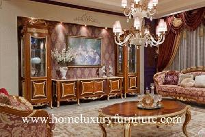 Tv Stands Wooden Furniture Living Room Sets China Supplier Ftv-128