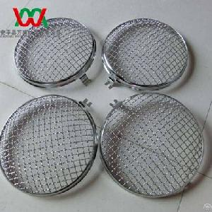 9inch 220mm Diameter Round Headlight Stone Guard Grille For Volkswagen