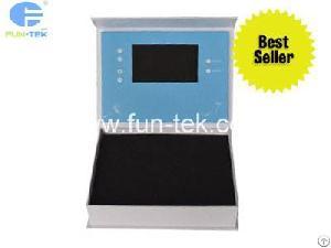 Custom Branding 4.3 Inch Video Box Lcd Packaging With Light Sensor Vmb-043 From China