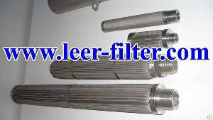 Leer Pleated Metal Filter Cartridge