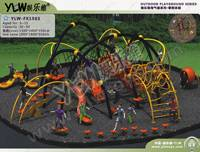 Amusement Outdoor Playground Park, Children Climbing Series Equipment, Spider-man Climbing Equipment