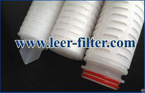 Liquid Pleated Filter Element