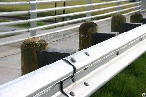 Highway Guardrail Plate