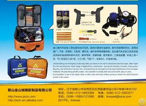 tire patch tyre seal string sealant solution emergency tool bag inflator