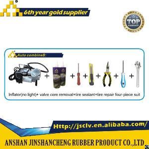 auto combine b inflator light valve core removal tire sealant repair four suit