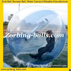 Water Sphere, Water Zorb Ball For Sale, Inflatable Walk Zorbing Ride