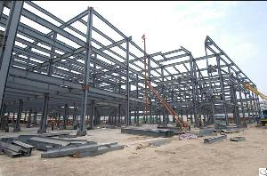 Pre-engineered Steel Structure Workshop Building