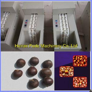 Small Chestnut Opening Machine, Chestnut Mouth Cutting Machine