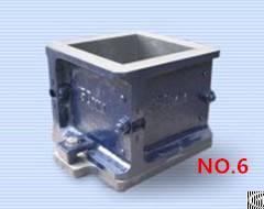 Cast Iron Cube Mould 150mm Cube Mould