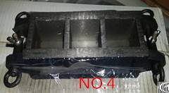 Cast Iron Three Gang Mould