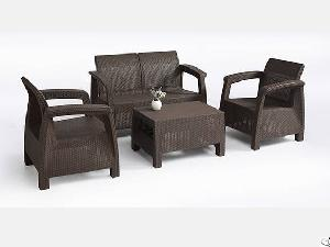 New Brown Rattan Style , Rattan Sofa Sets, Whether-proof Suitable For Outdoors , Living Room Etc