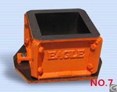100mm 150mm cast iron cube mould