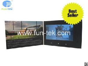 Screen video advertising player lcd brochure greeting card fun lcd module 101 inch digital greeting card vgc 101 video brochure advertising player for promotions m4hsunfo