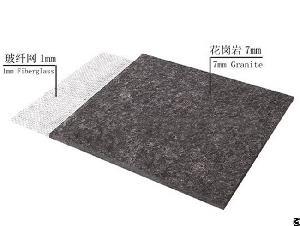 Ultra Thin Granite Reinforced Fiberglass