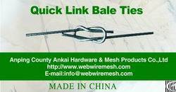 Hot Sale, Galvanized Quick Link Cotton Bale Ties