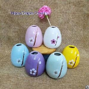 egg shape ceramic reed diffusers diffuser bottles