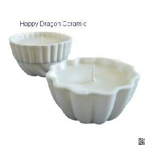 ceramic candle bowls containers wax holders