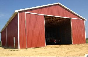 Prefabricated Steel Structure Warehouse For Hay