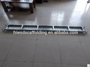 galvanized scaffolding plank construction