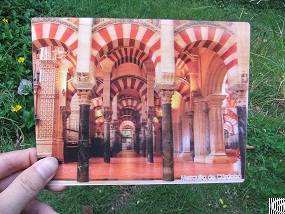 lenticular printing postcard customized 3d flip