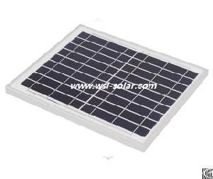 10w 9 Volt Poly Crystalline Solar Module