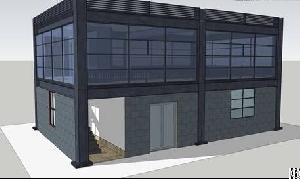 Saving Cost Prefabricated Steel Structure Office Building