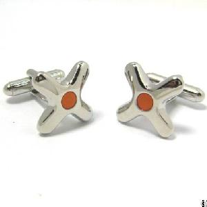 cross shape cuff link wcl 015