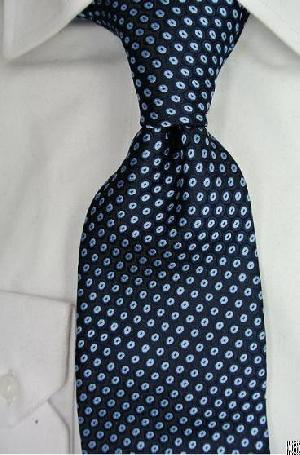 Desirable Navy Blue Necktie Nat-2753