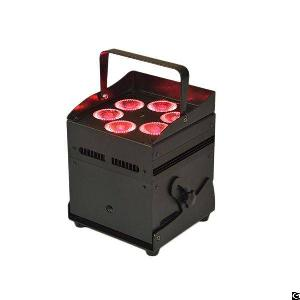 6x12w 6in1 Battery Powered And Wireless Dmx Led Stage Light