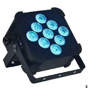 9x10w 5in1 Battery Powered And Wireless Dmx Led Par