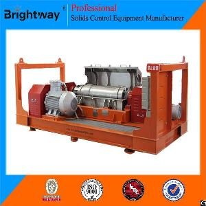 Brightway Solids Oilfield Horizontal Screw Decanter Centrifuge