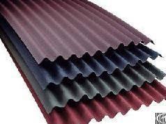 corrugated bitumen roofing sheet