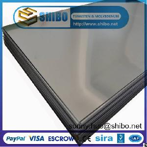 Pure Molybdenum Sheet, Moly Plate, Mo Foils