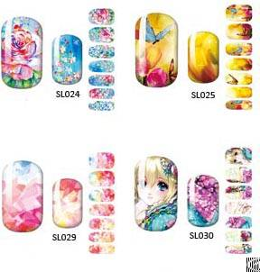 Water Decals Nail Sticker