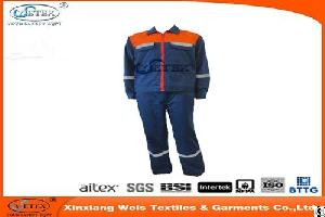 High Comfortable Fr Coverall For Oil-proof And Gas-proof